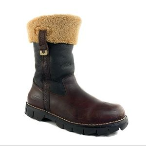 Men's UGG Leather Pull On Boots